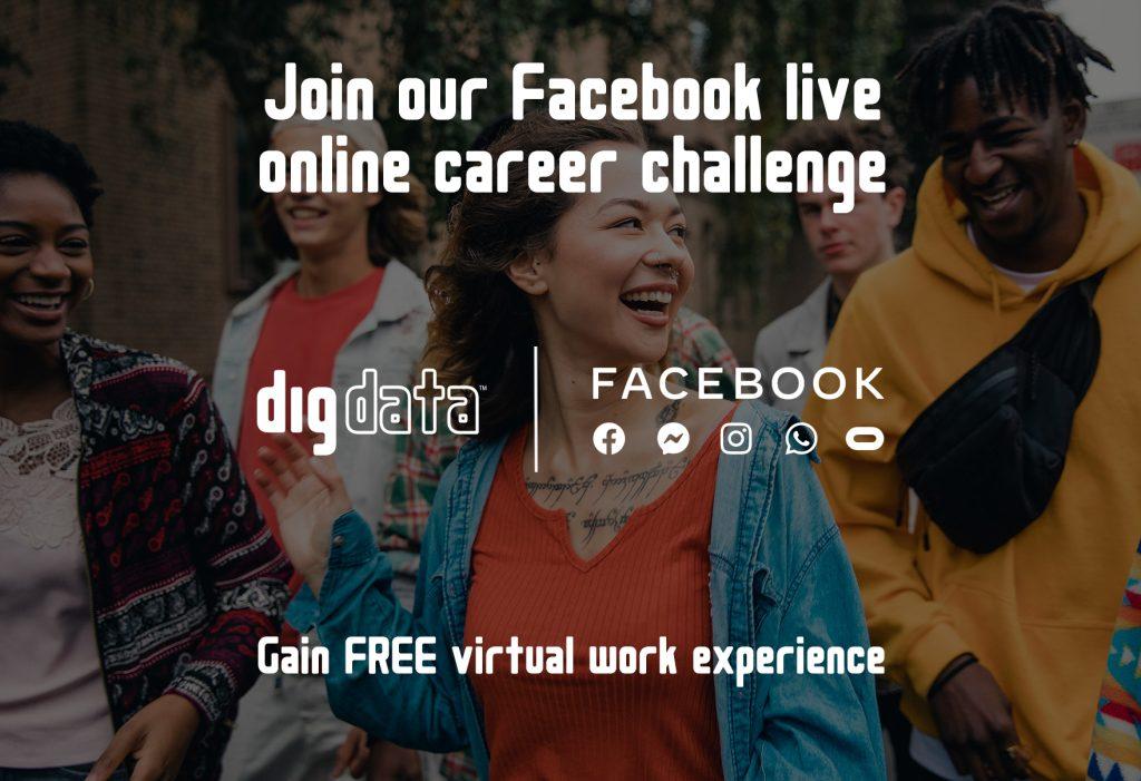 Facebook Live Online Career-Challenge News story