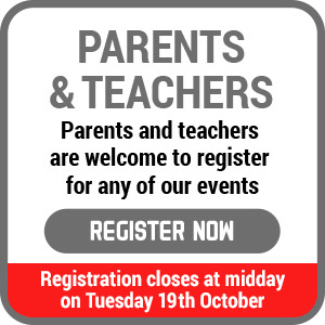 parents and teachers registration reminder