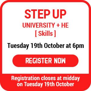 step up registration reminder